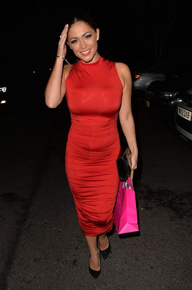 Casey Batchelor - Celebrates Her Birthday in Essex