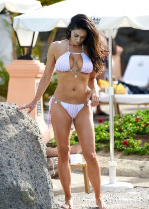 Casey Batchelor in Bikini on holiday in Dubai