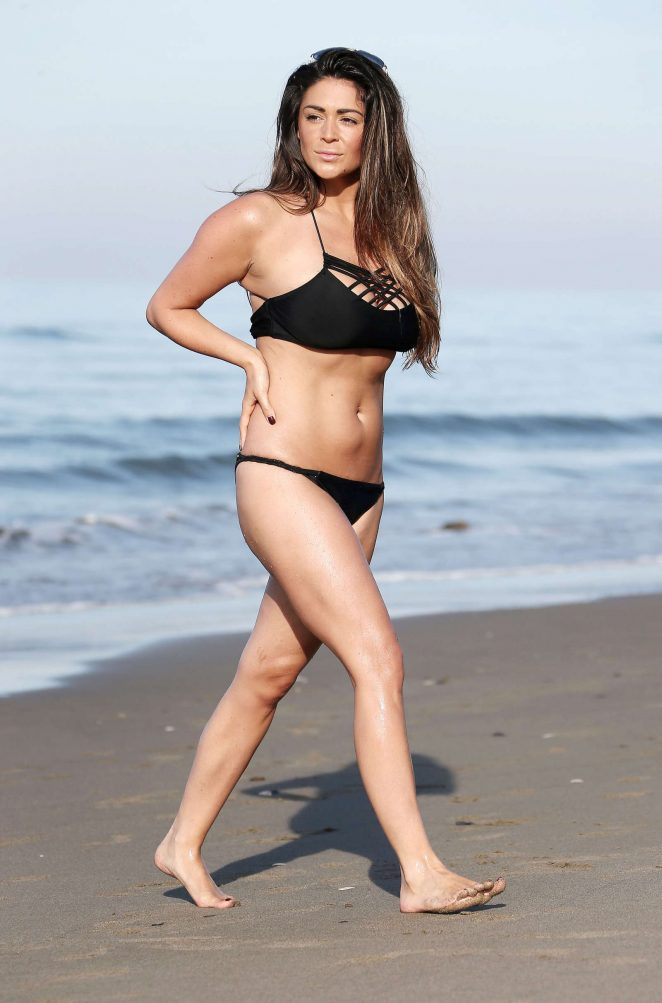 Casey Batchelor In Black Bikini 2016 18 Gotceleb