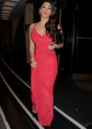 Casey Batchelor - Leaving The Dorchester Hotel in London