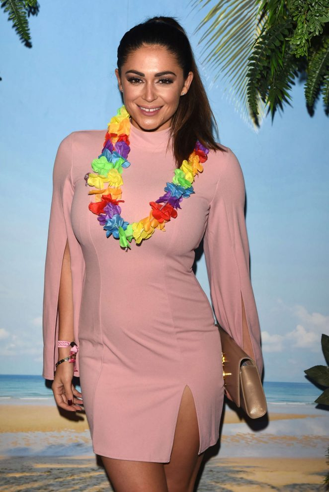Casey Batchelor - Pink London Party at Tropicana Beach Club in London