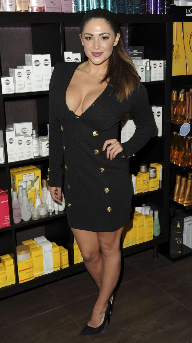 Casey Batchelor - The Carina Luxury Skincare Product Launch in London