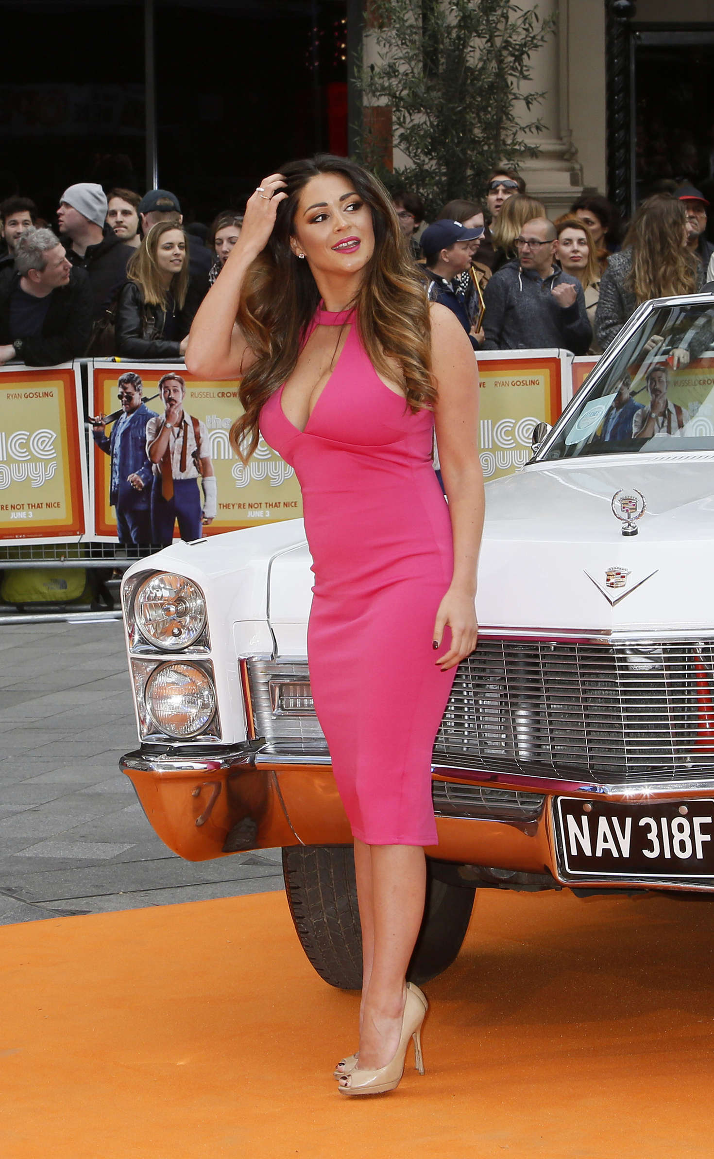 Casey Batchelor - 'The Nice Guys' Premiere in London