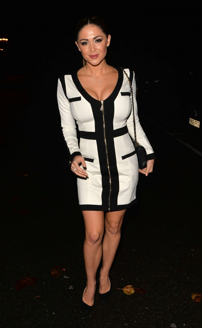 Casey Batchelor - Vicky Pattison's Birthday Party at Gilgamesh in London
