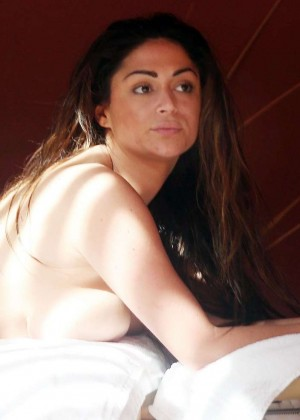 Casey Batchelor: Wearing bikini at Tenerife-05