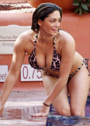 Casey Batchelor: Wearing bikini at Tenerife-09