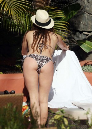 Casey Batchelor: Wearing bikini at Tenerife-10