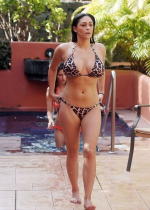 Casey Batchelor: Wearing bikini at Tenerife-12