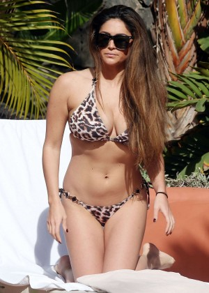 Casey Batchelor: Wearing bikini at Tenerife-14