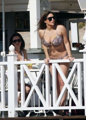 Casey Batchelor: Wearing bikini at Tenerife-16