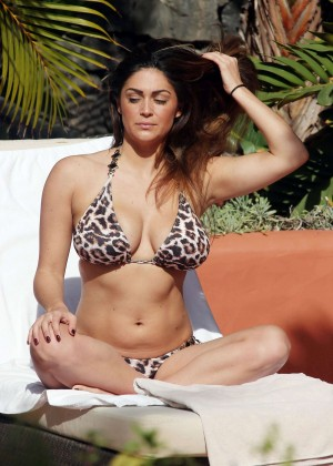 Casey Batchelor: Wearing bikini at Tenerife-22