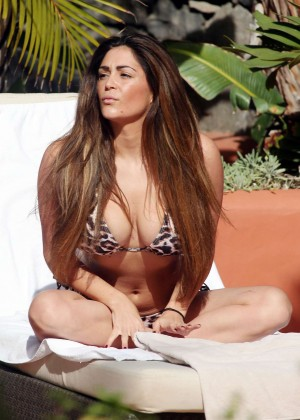 Casey Batchelor: Wearing bikini at Tenerife-25