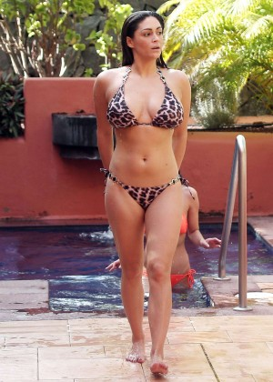 Casey Batchelor: Wearing bikini at Tenerife-32