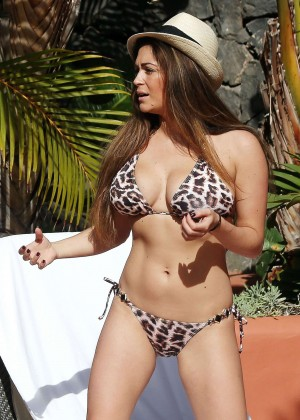 Casey Batchelor: Wearing bikini at Tenerife-34