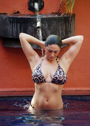 Casey Batchelor: Wearing bikini at Tenerife-48