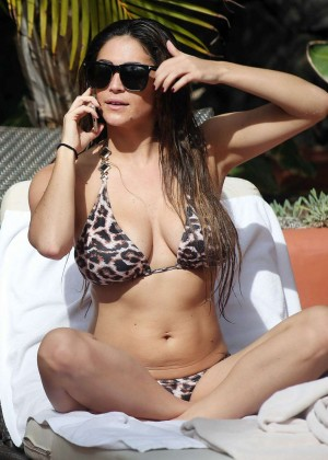Casey Batchelor: Wearing bikini at Tenerife-57