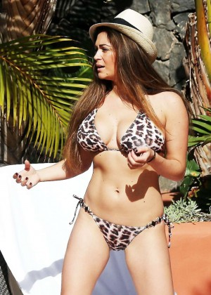 Casey Batchelor: Wearing bikini at Tenerife-59
