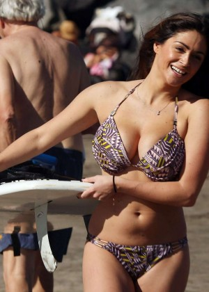 Casey Batchelor: Wearing bikini at Tenerife-61