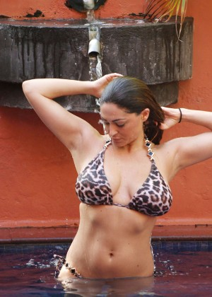 Casey Batchelor: Wearing bikini at Tenerife-75