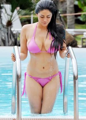 Casey Batchelor in Pink Bikini -01