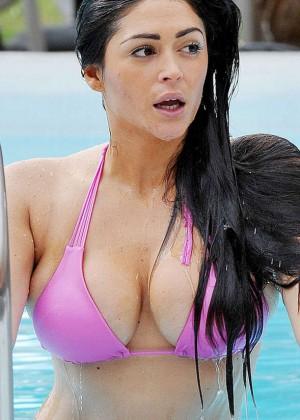 Casey Batchelor in Pink Bikini -02