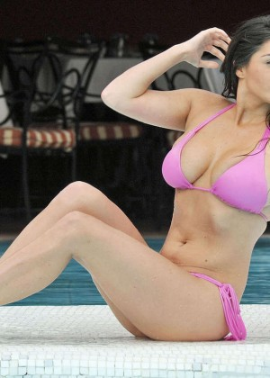 Casey Batchelor in Pink Bikini -03