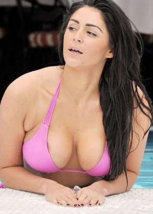 Casey Batchelor in Pink Bikini -04