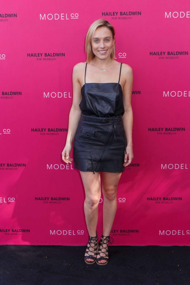 Casey Burgess - VIP launch of the Hailey Baldwin for ModelCo Cosmetics Range in Sydney