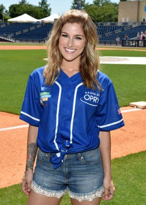 Cassadee Pope - 26th Annual City of Hope Celebrity Softball Game in Nashville