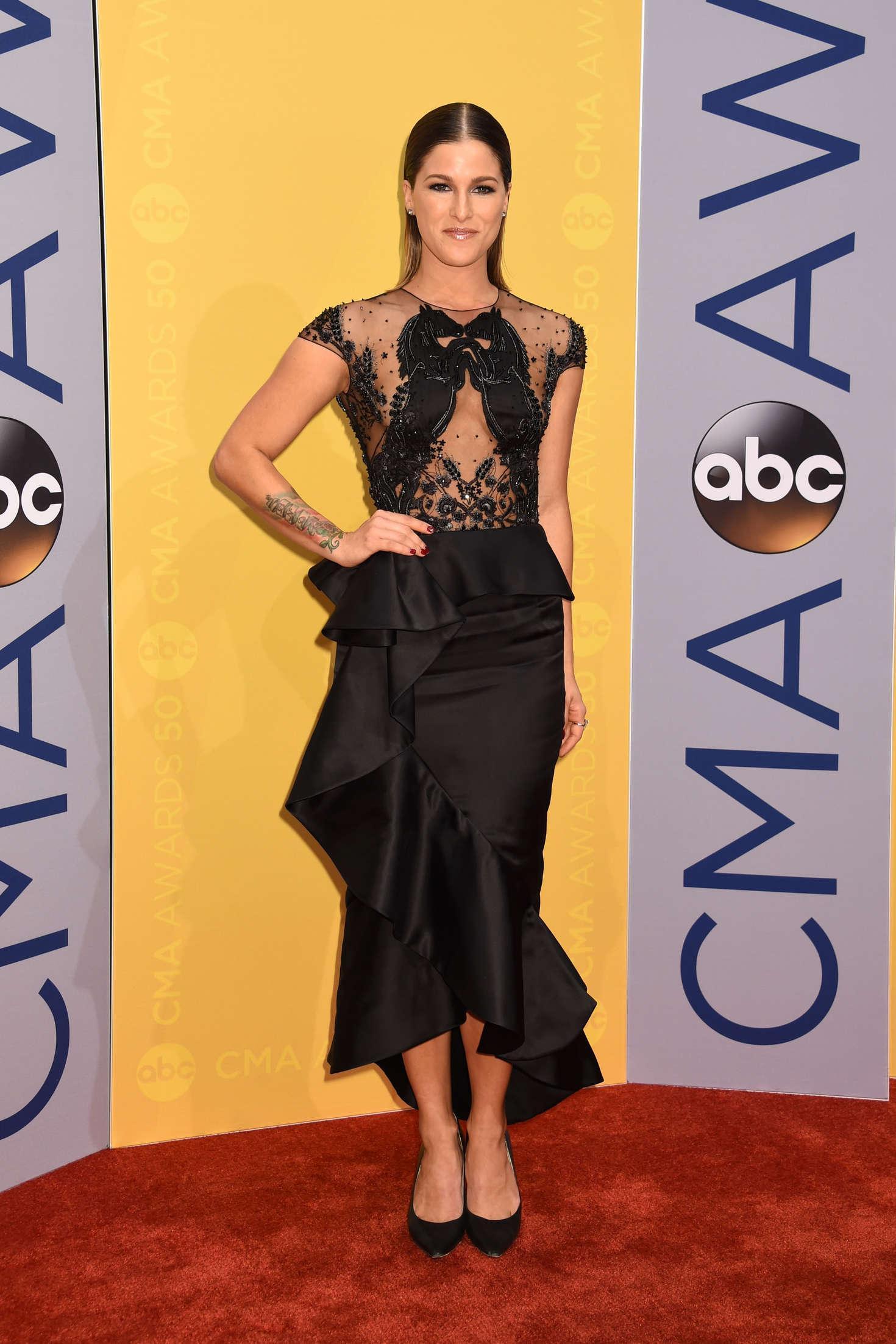 Cassadee Pope - 50th Annual CMA Awards in Nashville