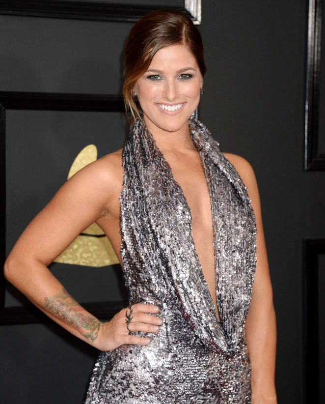 Cassadee Pope - 59th GRAMMY Awards in Los Angele