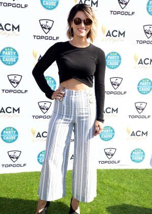 Cassadee Pope - ACM Lifting Lives TOPGOLF Tee-Off in Las Vegas