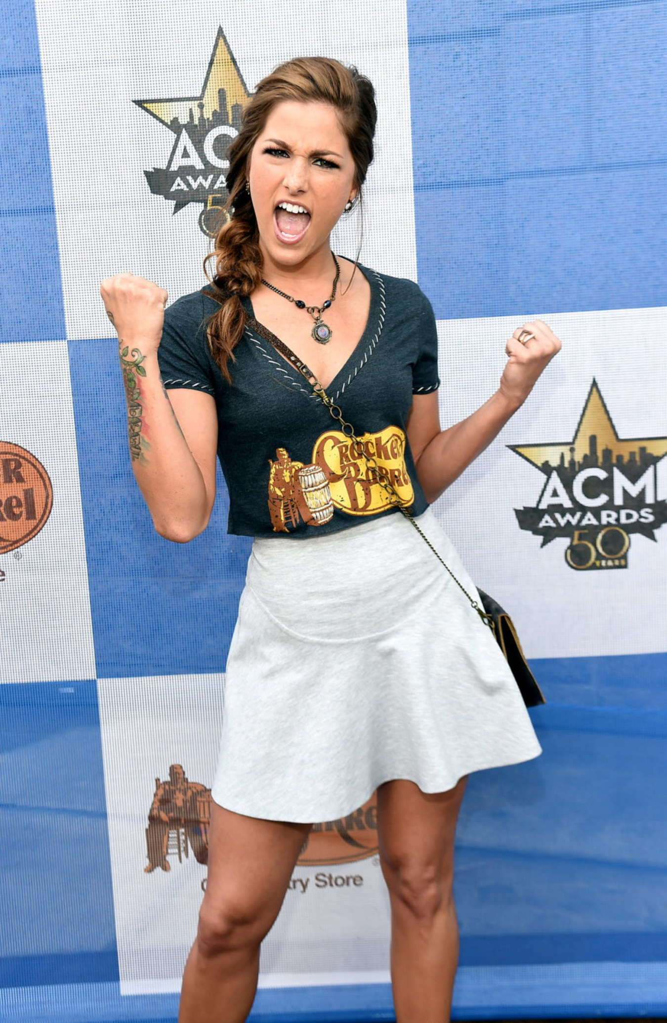 Cassadee Pope - Cracker Barrel Old Country Store Checkers Challenge in Arlington