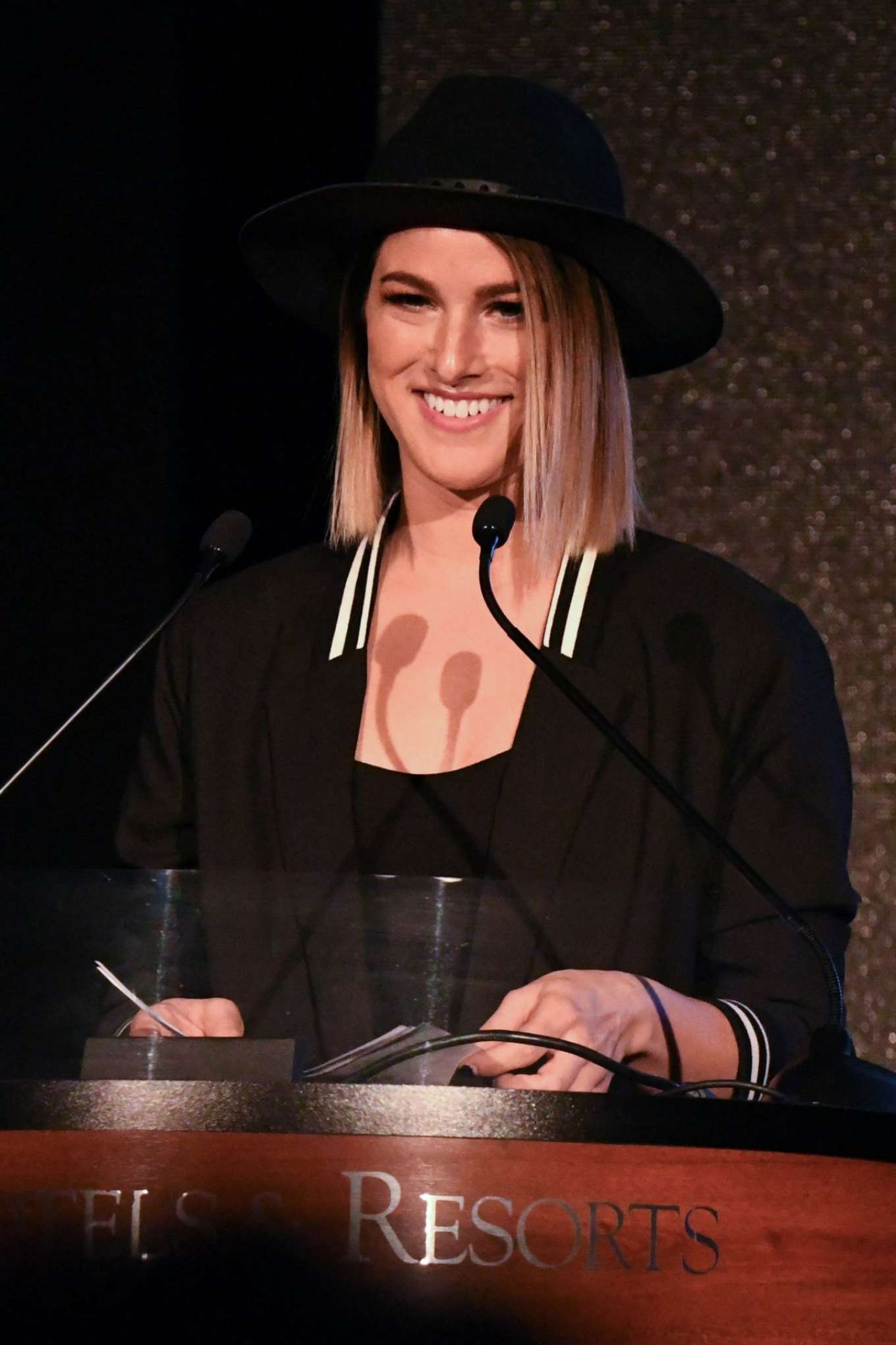 Cassadee Pope - CRS 2018 Artisit Humanitarian Award and Tom Rivers Award in Nashville