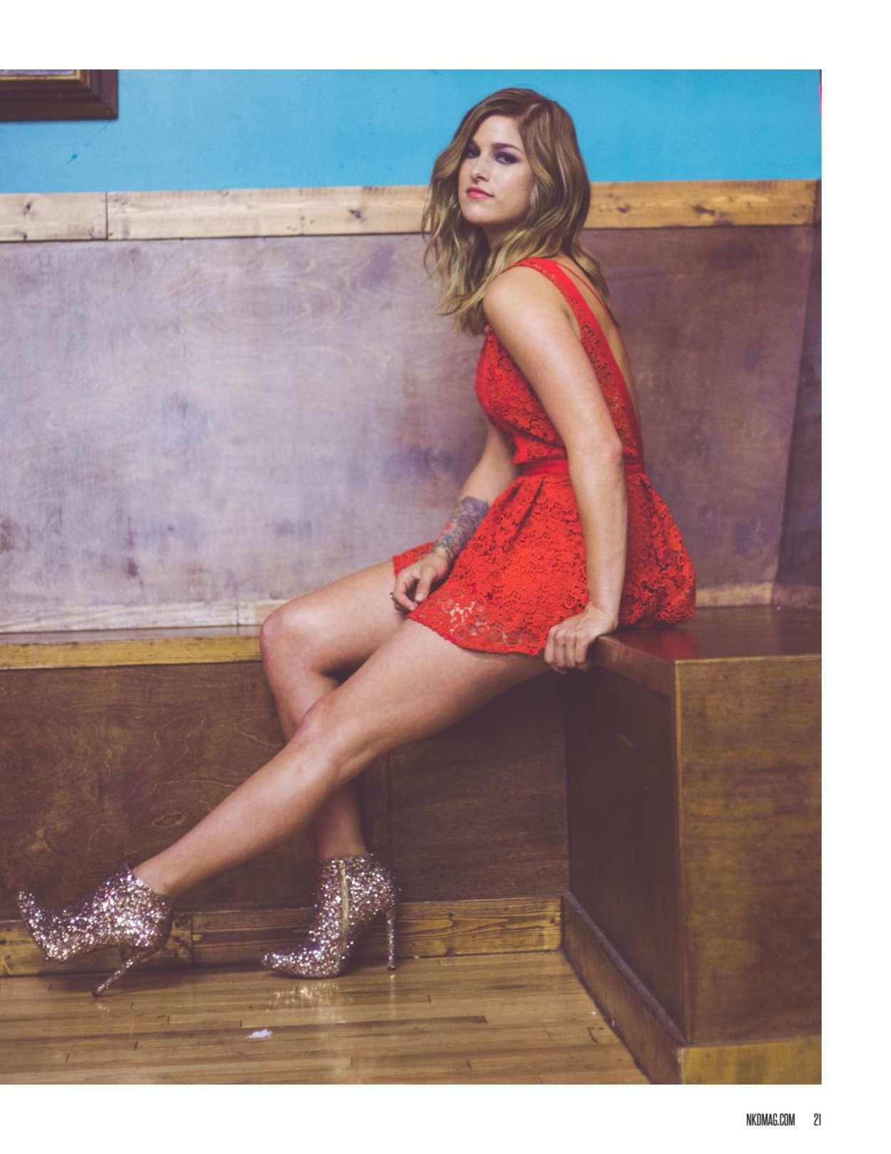 Cassadee Pope - NKD Magazine (August 2016)