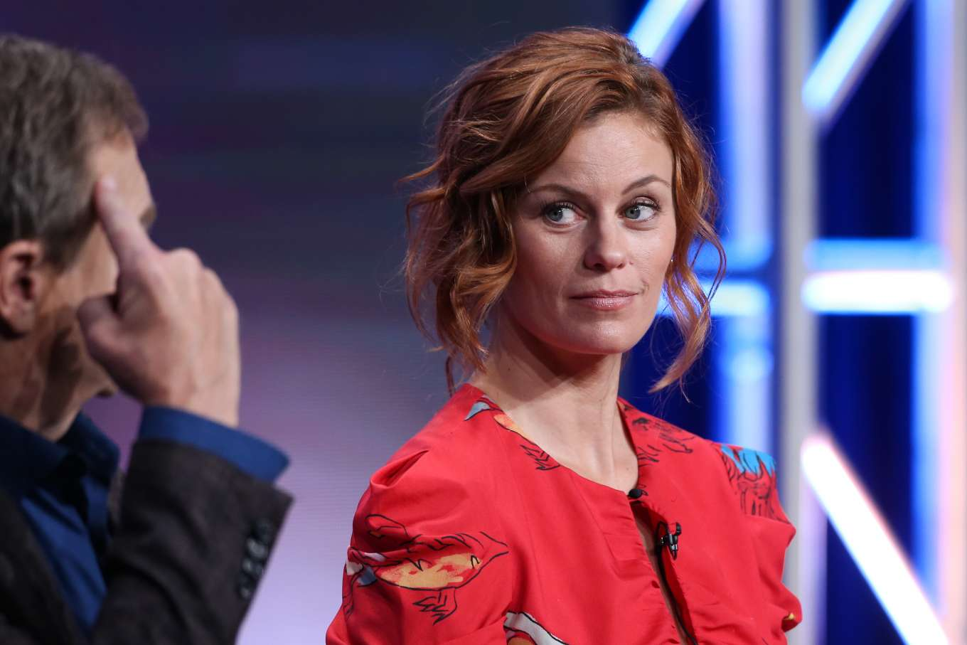 Cassidy Freeman 2019 : Cassidy Freeman – HBO The Righteous Gemstones Panel – 2019 TCA Summer Press Tour-01