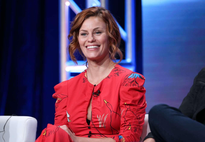 Cassidy Freeman 2019 : Cassidy Freeman – HBO The Righteous Gemstones Panel – 2019 TCA Summer Press Tour-05
