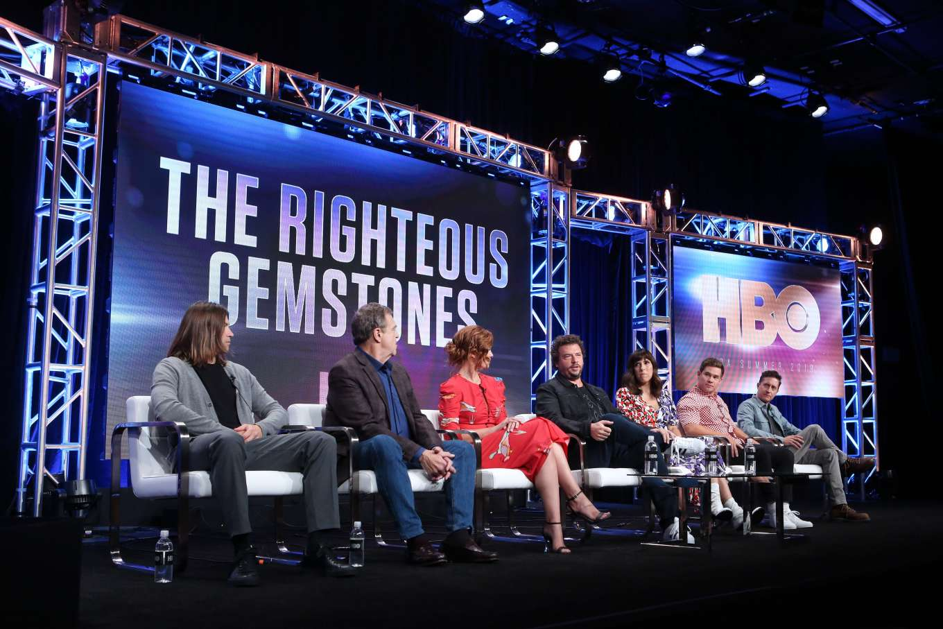 Cassidy Freeman 2019 : Cassidy Freeman – HBO The Righteous Gemstones Panel – 2019 TCA Summer Press Tour-06