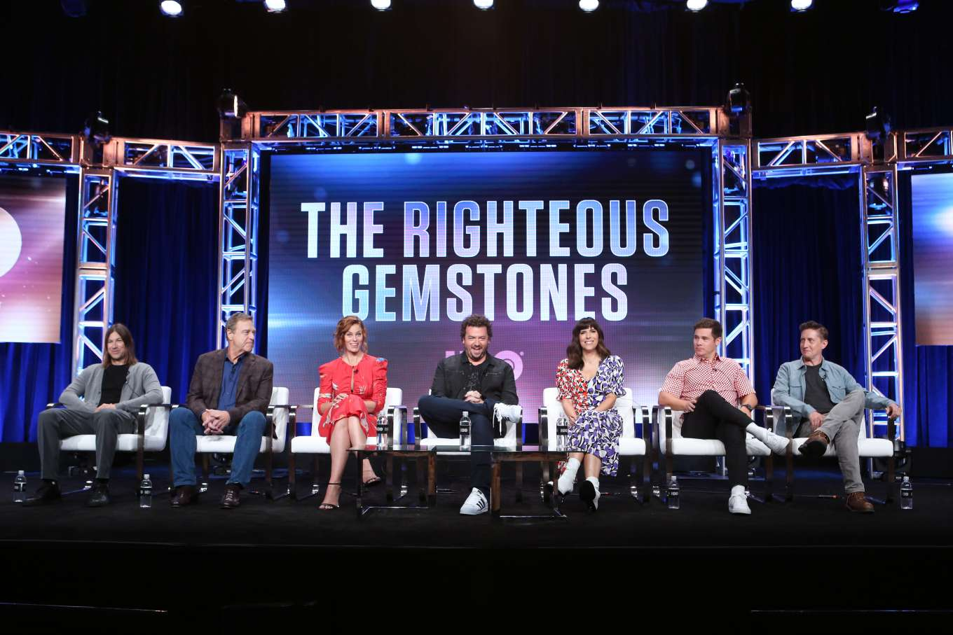 Cassidy Freeman 2019 : Cassidy Freeman – HBO The Righteous Gemstones Panel – 2019 TCA Summer Press Tour-08