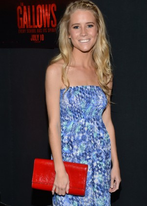 Cassidy Gifford - 'THE GALLOWS' Fresno Hometown Screening in Fresno