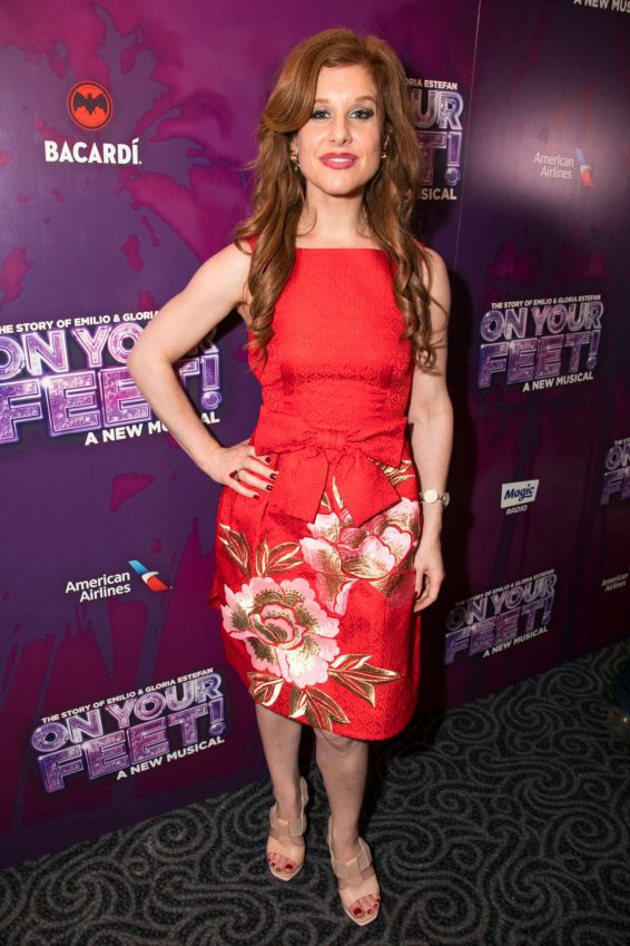Cassidy Janson - On Your Feet! A New Musical Press Night in London