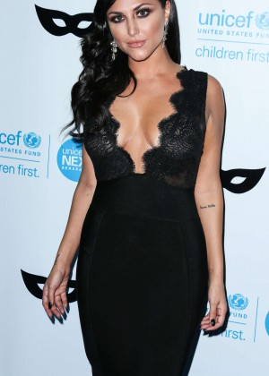 Cassie Scerbo - 2015 UNICEF Black & White Masquerade Ball in LA