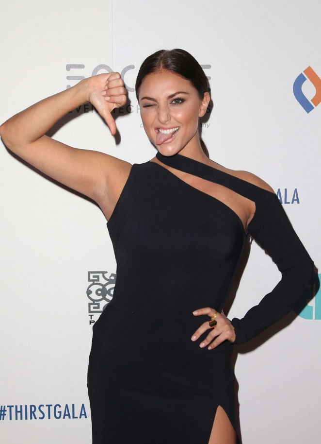 Cassie Scerbo - 2015 Thirst Gala in Beverly Hills