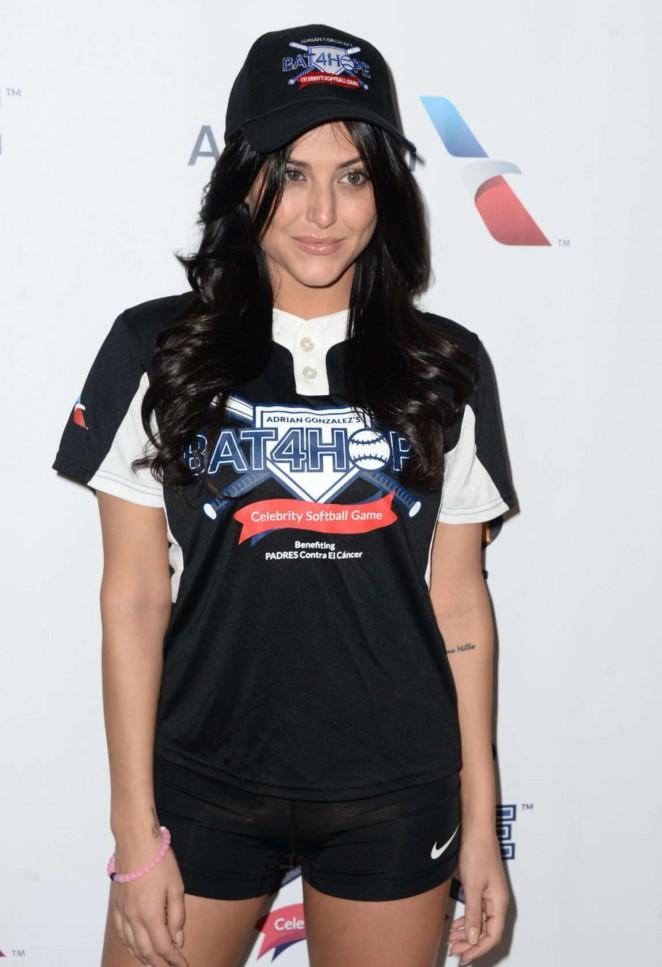 Cassie Scerbo - Adrian Gonzalez's Bat 4 Hope Celebrity Softball Game in LA