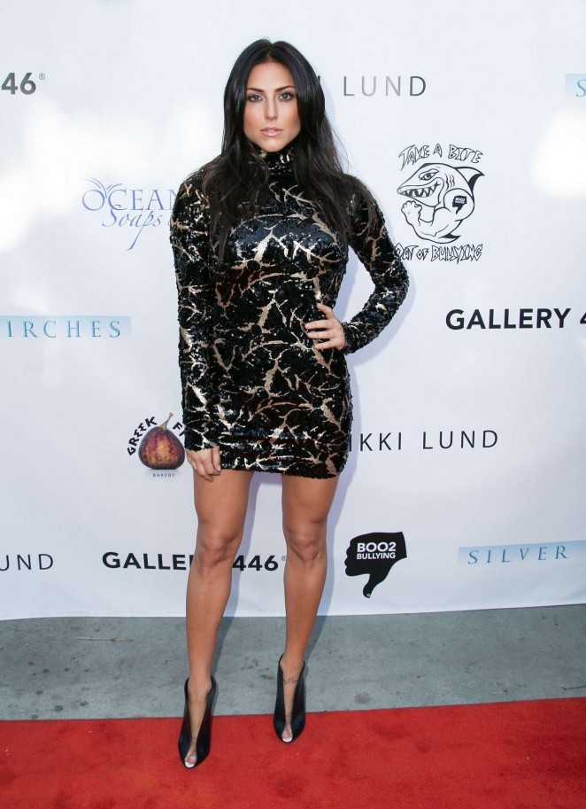 Cassie Scerbo - BOO2bullying's Take A Bite Out Of Bullying Launch in LA