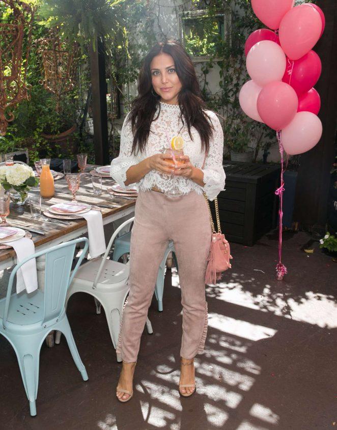 Cassie Scerbo – 'Burn Cookbook' Boozy Brunch Launch in Los Angeles
