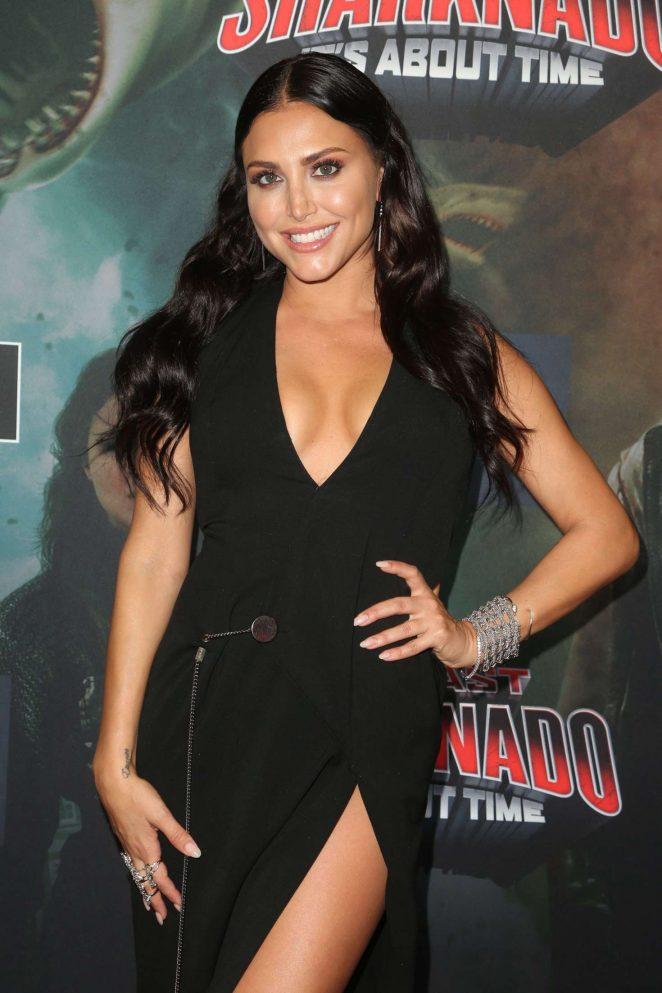 Cassie Scerbo - 'The Last Sharknado: It's About Time' Premiere in LA