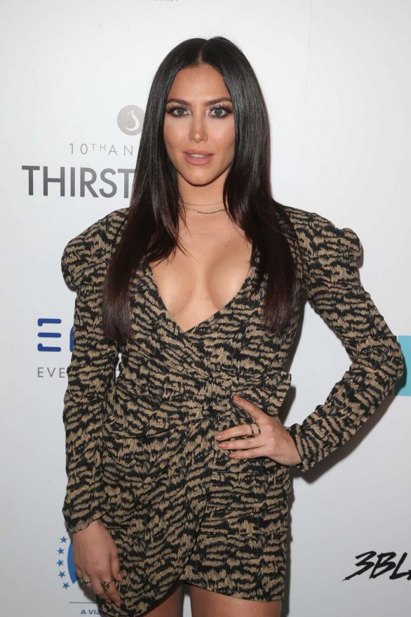 Cassie Scerbo - Thirst Project 10th Annual Thirst Gala in Beverly Hills