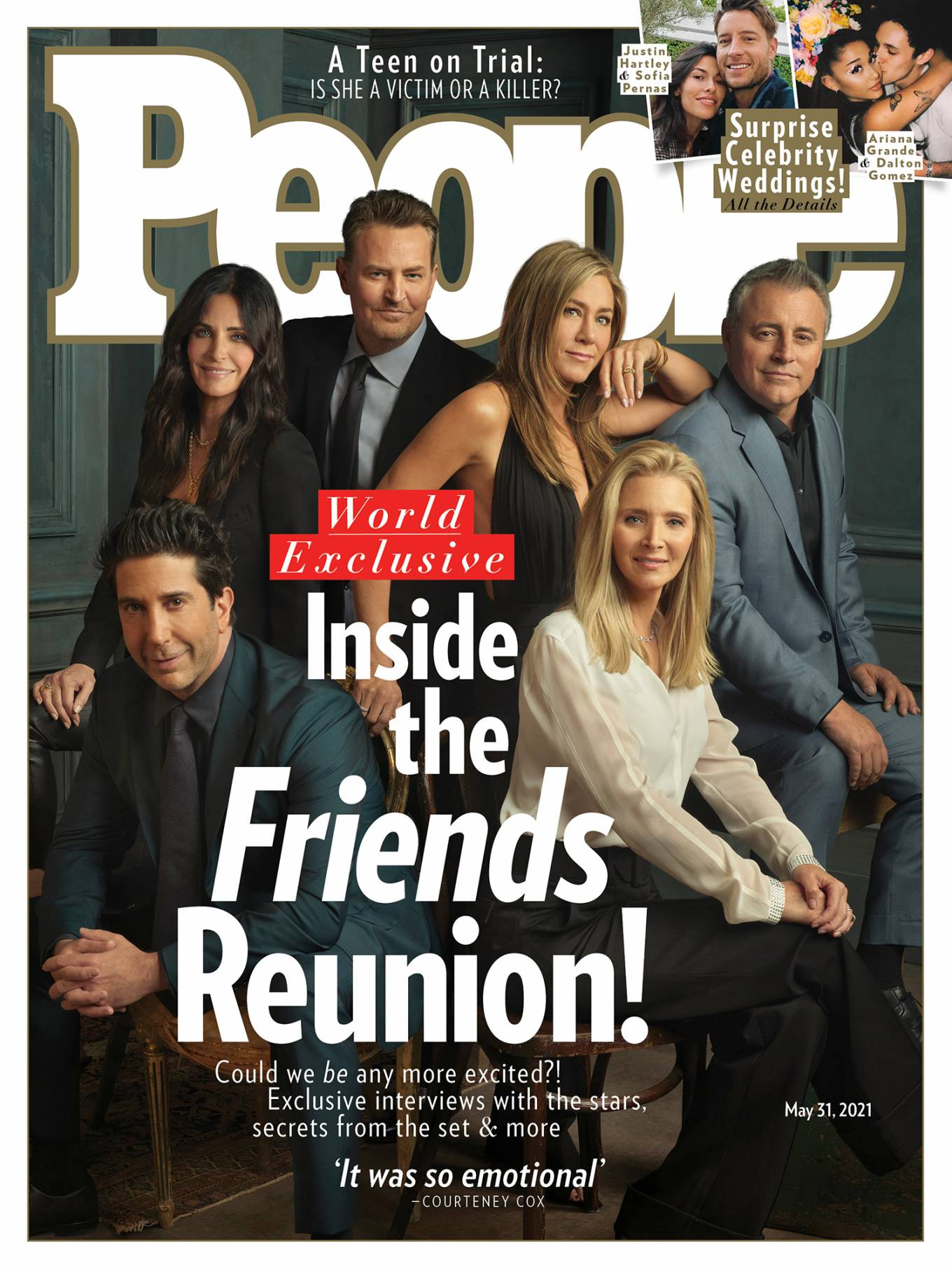 Cast of Friends - People Magazine (May 2021)