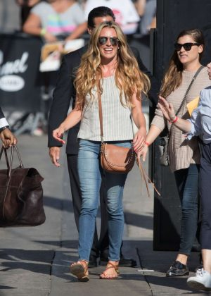 Cat Deeley - Arriving at Jimmy Kimmel Live! in Los Angeles